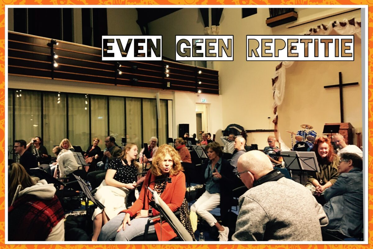 Even geen repetitie…